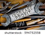 photo of various tools and... | Shutterstock . vector #594752558