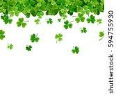 vector st. patrick's day... | Shutterstock .eps vector #594755930