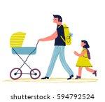 artoon illustration of a...   Shutterstock .eps vector #594792524
