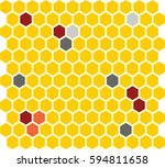 honey icon vector | Shutterstock .eps vector #594811658