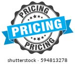 pricing. stamp. sticker. seal.... | Shutterstock .eps vector #594813278
