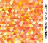 abstract geometric colorful... | Shutterstock .eps vector #594813380