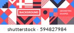 simple banner of decorative...   Shutterstock .eps vector #594827984