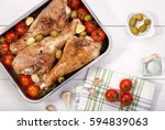 Roasted Turkey Drumstick With...