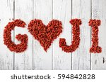 Goji Berries As A Heart And...