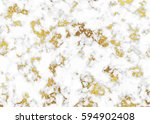 vector marble with gold... | Shutterstock .eps vector #594902408