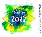 signs  symbols inscription...   Shutterstock .eps vector #594907706