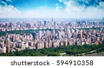 beautiful aerial view of... | Shutterstock . vector #594910358