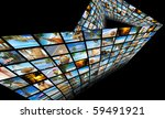 summertime theme photo collage... | Shutterstock . vector #59491921