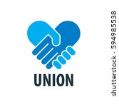vector logo handshake | Shutterstock .eps vector #594985538