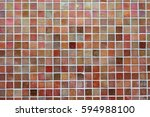 colorful square tiles | Shutterstock . vector #594988100