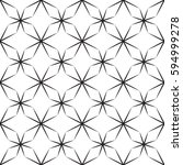 seamless vector pattern with... | Shutterstock .eps vector #594999278