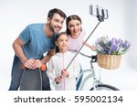 Portrait Of Smiling Family Wit...