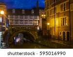 a view of high bridge in the... | Shutterstock . vector #595016990