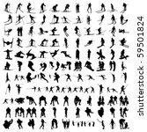 set of hundred sports...   Shutterstock .eps vector #59501824