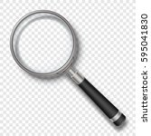 Vector Zoom Magnifier With...