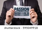 Small photo of Passion is the Difference Between Having a Job or Having a Career