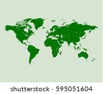 world map | Shutterstock .eps vector #595051604