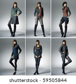 Collage Of Beautiful Fashion...