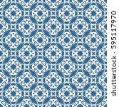 vintage pattern graphic design   Shutterstock .eps vector #595117970