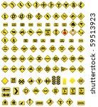 road sign | Shutterstock .eps vector #59513923