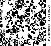 regularly repeating geometrical ... | Shutterstock .eps vector #595148204