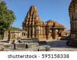 eklingji temple complex ... | Shutterstock . vector #595158338