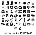 medical icons medicine hospital ...   Shutterstock .eps vector #595179440