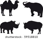 animals vector | Shutterstock .eps vector #59518810