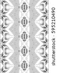 rectangle black and white... | Shutterstock . vector #595210490