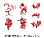 seth  collection  packs... | Shutterstock . vector #595222178