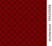 vintage pattern graphic design | Shutterstock .eps vector #595255058