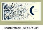 abstract grunge horizontal...   Shutterstock .eps vector #595275284