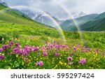 Rainbow In The Mountains....