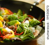 Wok Stir Fry With Selective...