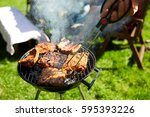 leisure  food  people and... | Shutterstock . vector #595393226