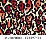 the beautiful of art fabric... | Shutterstock . vector #595397486