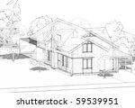model of house   Shutterstock . vector #59539951