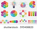 infographic elements data... | Shutterstock .eps vector #595408820