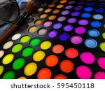 fashion background  with... | Shutterstock . vector #595450118