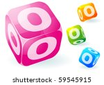 glossy transparent vector abc...   Shutterstock .eps vector #59545915