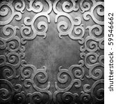 Silver Metal Plate With Classi...