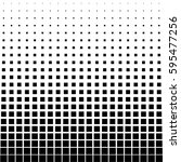 black abstract halftone square...   Shutterstock .eps vector #595477256