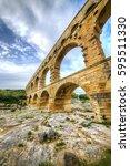 The Aqueduct Pont Du Gard...
