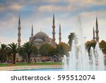 Sultanahmet Mosque And Fountai...