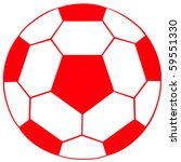 english soccer ball | Shutterstock . vector #59551330