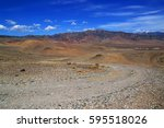 Landscape With Rocky Dirt Road...