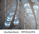 contemporary architecture.... | Shutterstock . vector #595526294