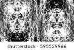 grunge black and white urban... | Shutterstock .eps vector #595529966