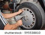 wheel  car wheel  car wheel... | Shutterstock . vector #595538810
